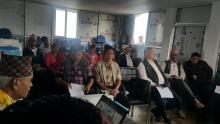 Law orientation program at Mahashila,Parbat