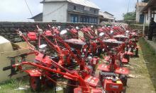 distribution of mini power teller for farmer of mahashila
