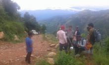 pitch road in lunkhu parbat